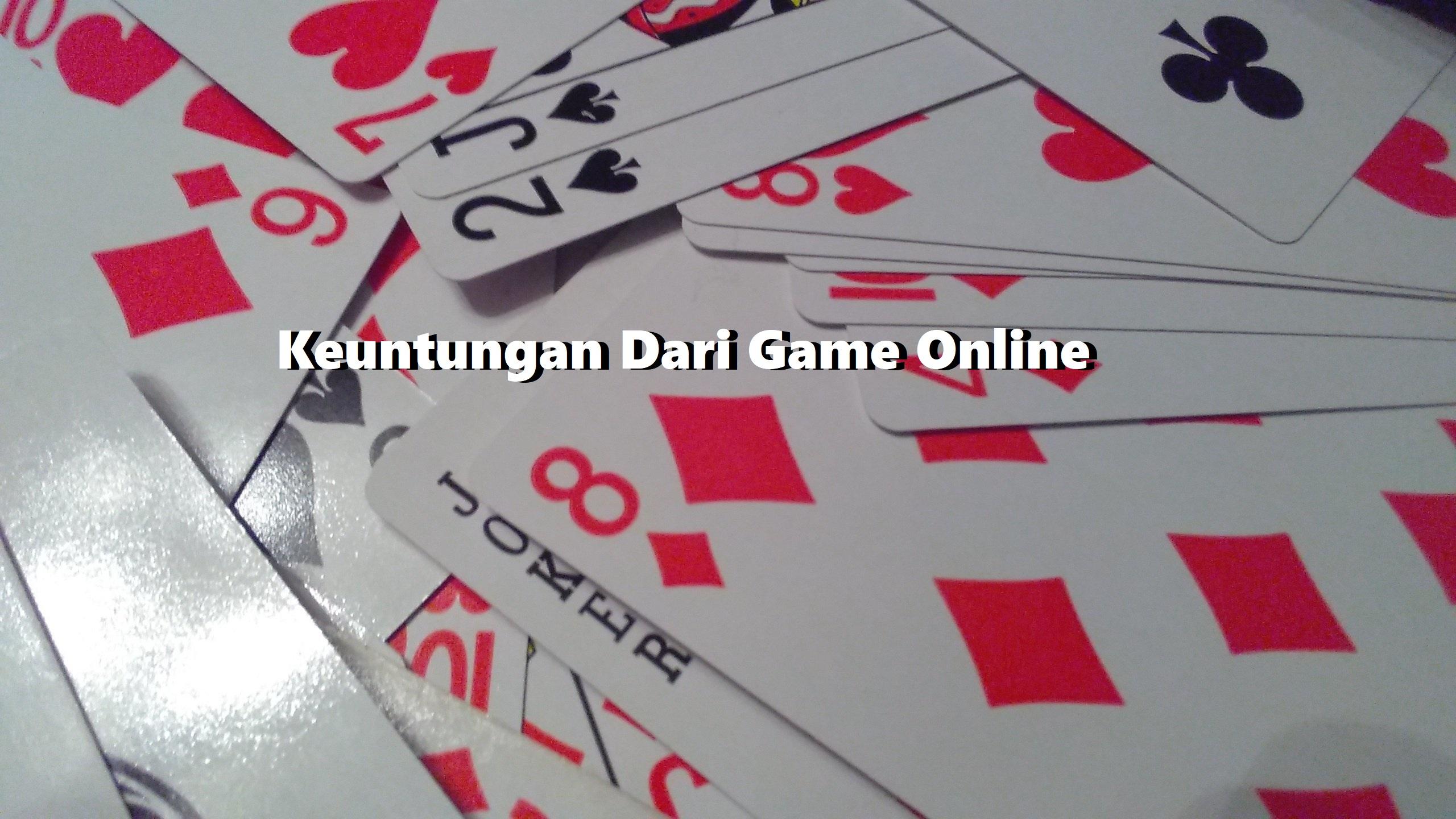 Keuntungan Dari Game Online